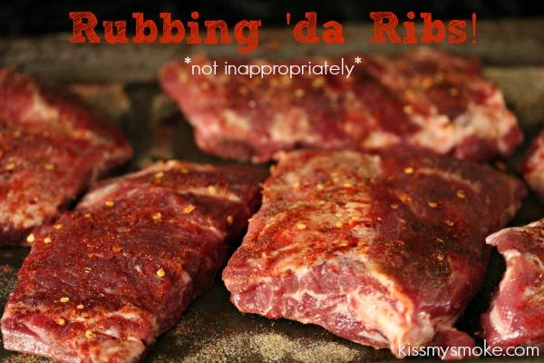 BBQ Ribs Prep | kissmysmoke.com | #grill #bbq