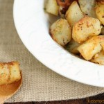 Grilled Potatoes with Garlic and Chipotle Spice