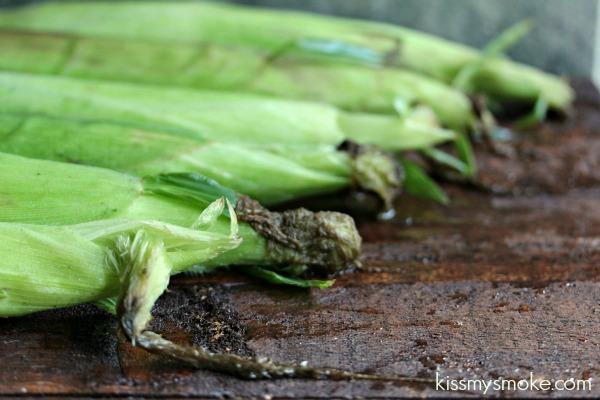 Preparing Corn for the Grill