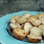 Tinfoil Potatoes Packages Cooked on the Grill   kissmysmoke.com   #grill #bbq #potatoes #sides