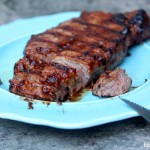 Grilled Striploin Steak (New York Strip)