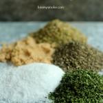 Italian Herb Rub ingredients