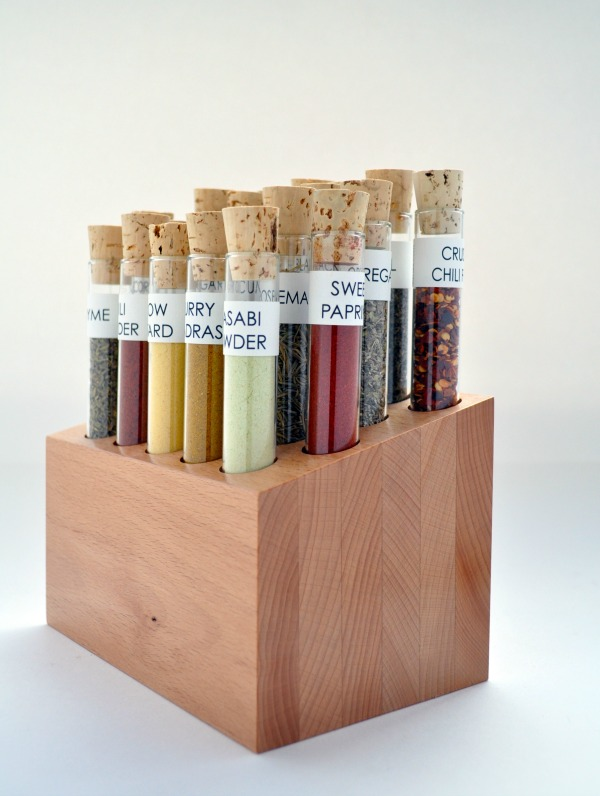 Savorx Spice & Flavor Co. Spiceologist Starter Block Giveaway | Cravings of a Lunatic | You must enter. This block is the coolest spice holder in the world!