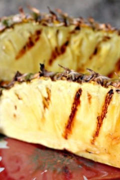 Grilled Whole Pineapple #HowToTuesday