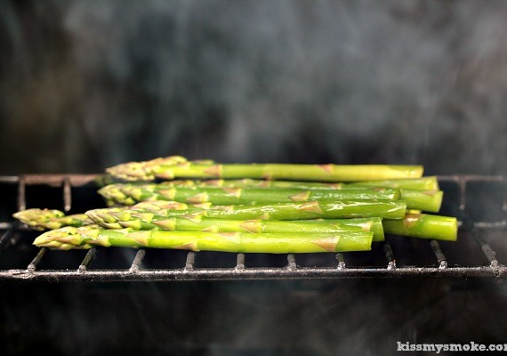 Grilled Asparagus with Brown Butter and Shallots | This recipe is going to knock your socks off.