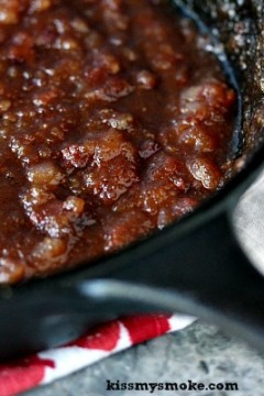 Bacon Barbecue Sauce #BaconMonth