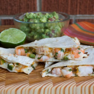 Shrimp and Jalapeno Quesadilla by The Black Peppercorn: Guest Post on kissmysmoke.com