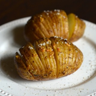 Garlic Hasselback Potatoes on the Grill: Guest Post by CopyKat Recipes on kissmysmoke.com