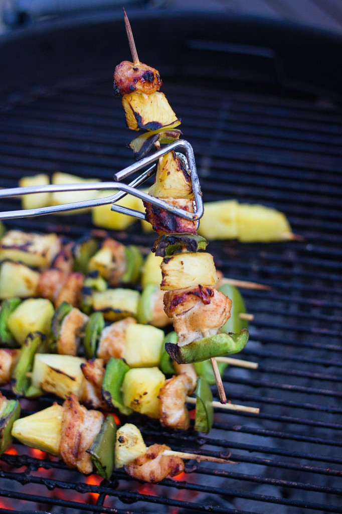Sweet and Spicy Chicken Skewers from Tammilee Tips