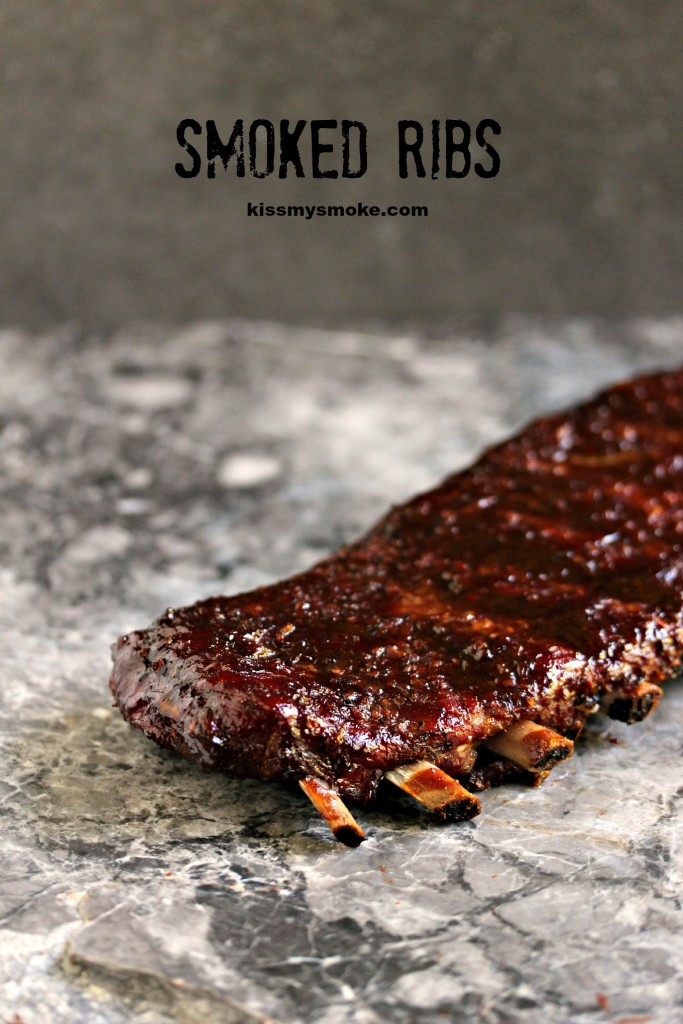 These smoked ribs are cooked to perfection using the 3, 2, 1 method. They are simple to make yet pack a serious flavour punch!