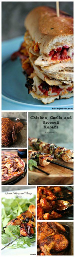 Kiss My Smoke Chicken Recipes