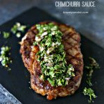 Grilled Rib Steaks with Chimichurri Sauce Plus a Giveaway